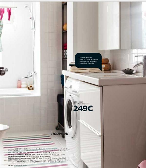 Meuble sous evier machine a laver id es de travaux - Machine a laver sous evier cuisine ...