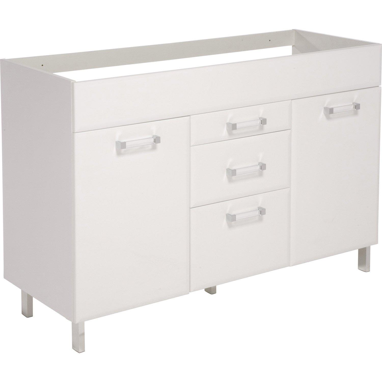 meuble sous evier 120 cm 3 portes id es de travaux. Black Bedroom Furniture Sets. Home Design Ideas